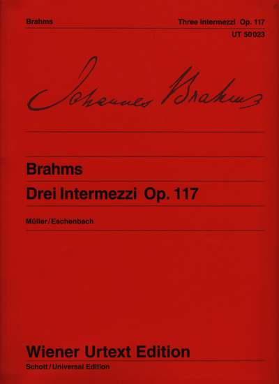 photo of Three Intermezzi, Op. 117