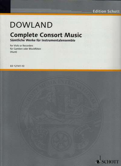 photo of Complete Consort Music