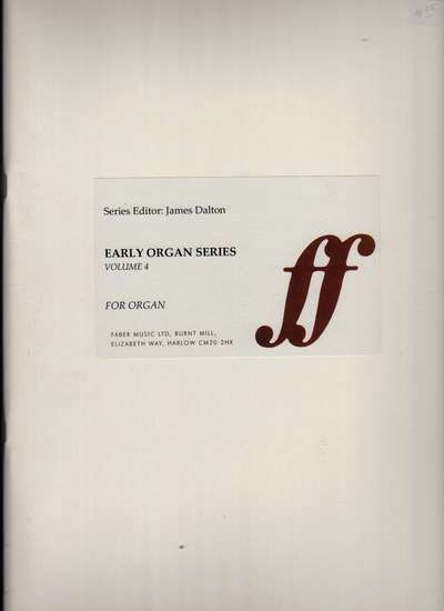 photo of European Organ Music of 16th and 17th cent, Vol  4, Spain & Portugal