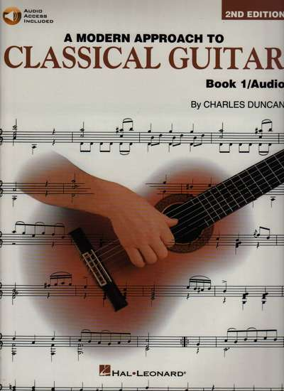 photo of A Modern Approach to Classical Guitar, Book 1/ Audio, 2nd edition