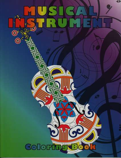 photo of Musical Instrument Coloring Book
