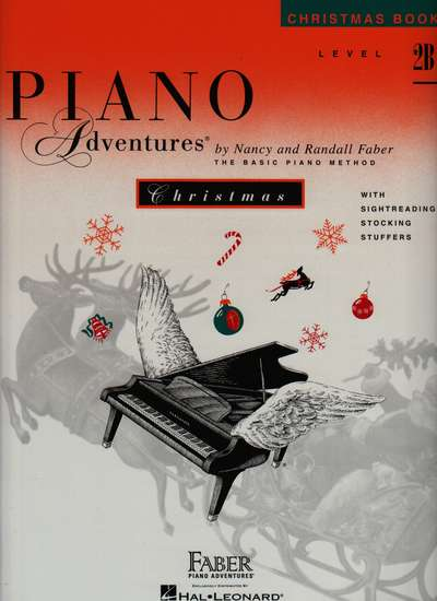 photo of PianoAdventures, Christmas Book, Level 2B