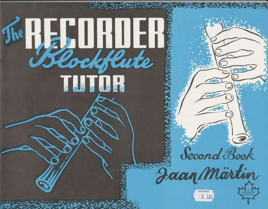 photo of The Recorder (Blockflute) Tutor, Second Book