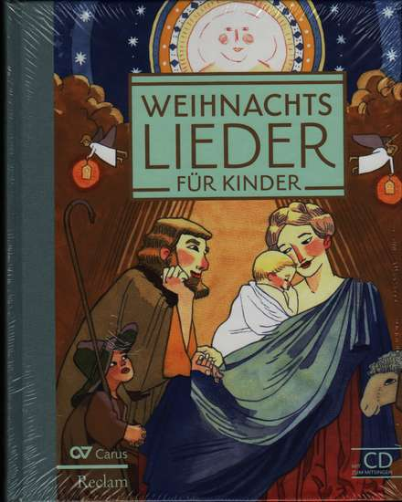 photo of Weihnachts Lieder fur kinder, 70 Childrens Christmas songs, hard cover, with CD