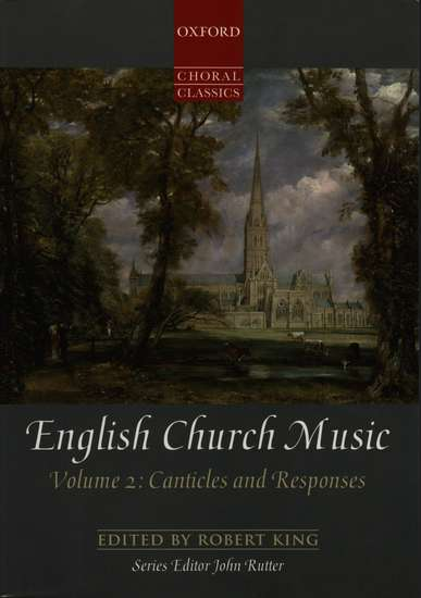 photo of English Church Music, Vol. II Canticles and Responses