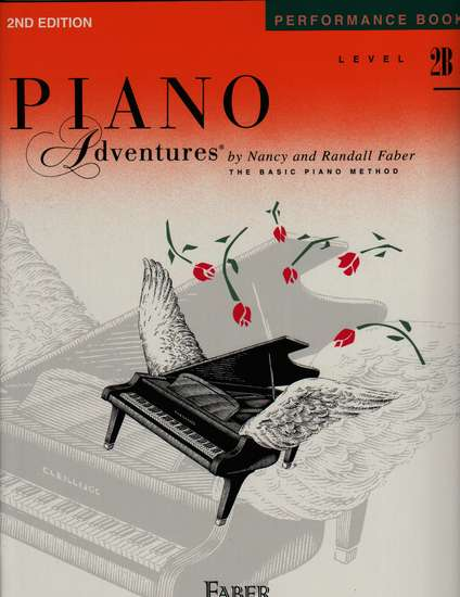 photo of Piano Adventures, Performance Book, Level 2B, Second 2013 edition
