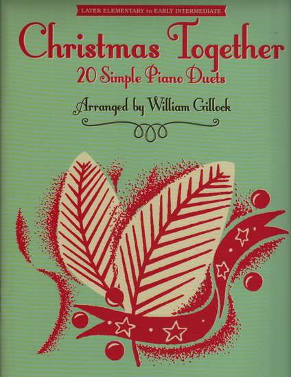 photo of Christmas Together, 20 Simple Piano Duets