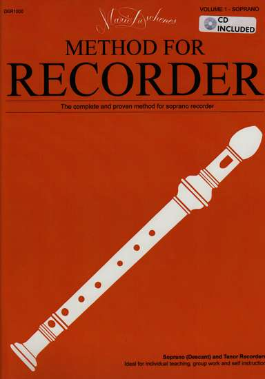 photo of Method for the Recorder, Part One, Soprano, Tenor, with CD