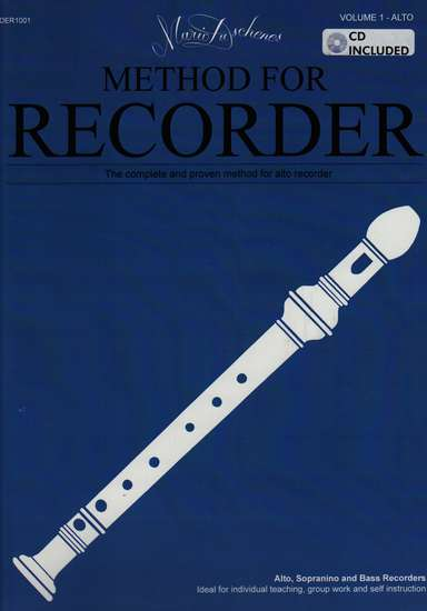 photo of Method for the Recorder, Part One, Alto, with CD