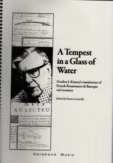 photo of A Tempest in a Glass of Water, translations of French Treatises