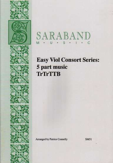 photo of Easy Viol Concort Series: 5 part music