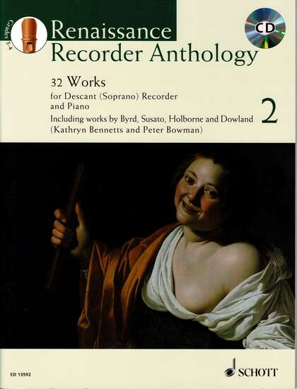 photo of Renaissance Recorder Anthology, Vol. 2, 32 Works, CD, Soprano