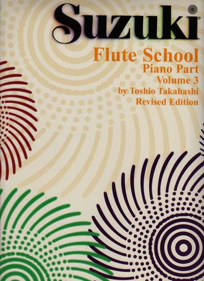 photo of Suzuki Flute School, Vol. 3, rev, Accompaniment, 1997