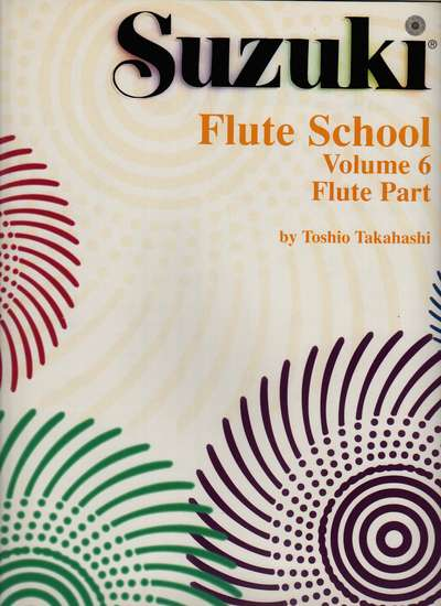 photo of Suzuki Flute School, Vol. 6, 1988