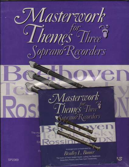photo of Masterwork Themes for Three Soprano Recorders