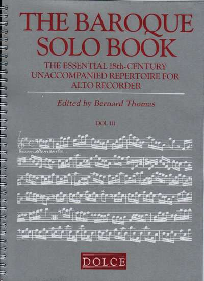 photo of The Baroque Solo Book