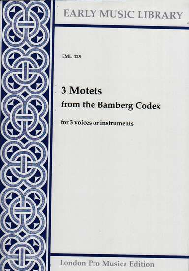 photo of 3 Motets from the Bamberg Codex