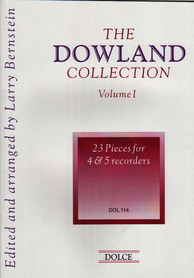 photo of The Dowland Collection, 23 Pieces