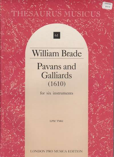 photo of Pavans and Galliards