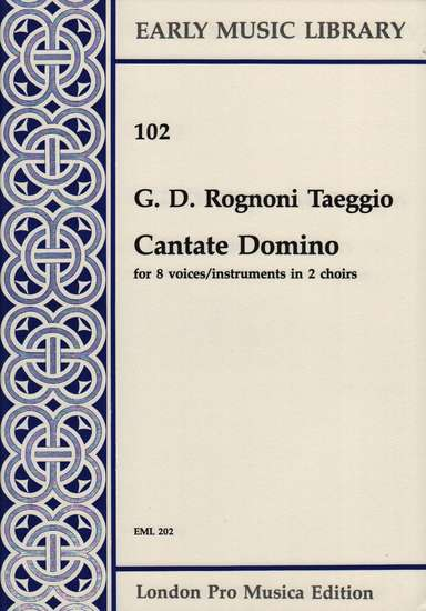 photo of Cantate Domino