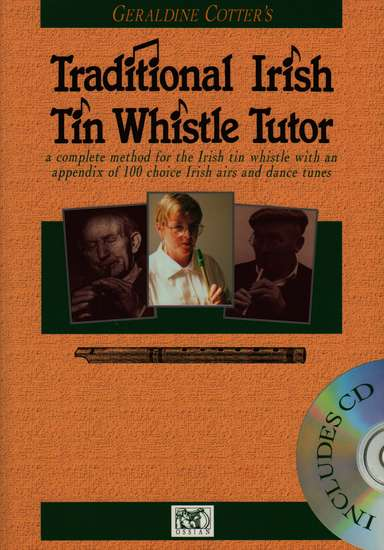photo of Traditional Irish Tin Whistle Tutor, book and CD