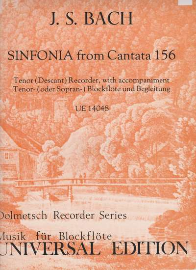 photo of Sinfonia from Cantata 156