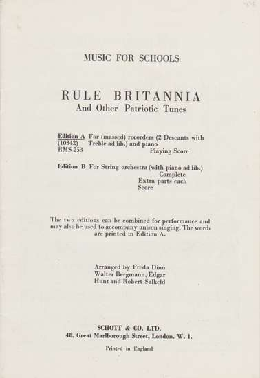photo of Rule Britannia and Other Patiotic Tunes