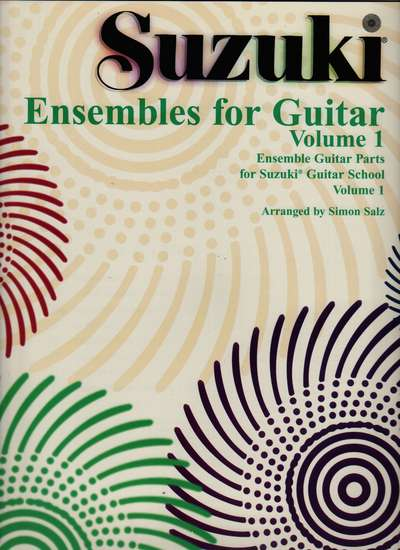 photo of Ensembles for Guitar, Vol. 1