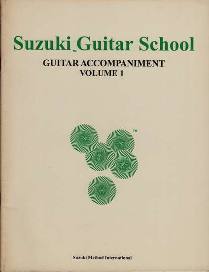 photo of Suzuki Guitar School, Vol. 1, Acc. 1978 ed.