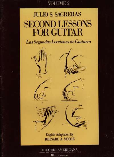 photo of Second Lessons for Guitar