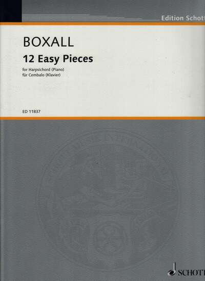 photo of Twelve Easy Pieces for harpsichord