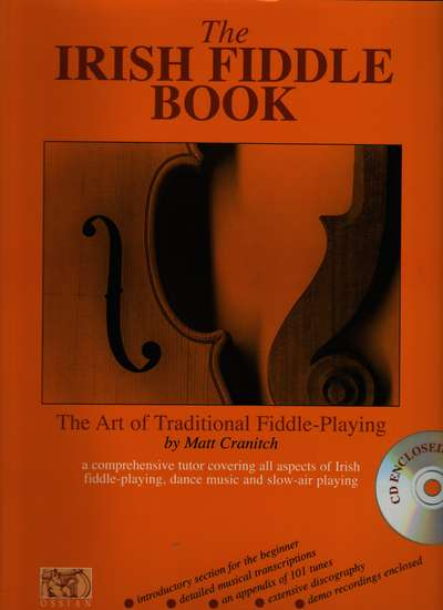 photo of The Irish Fiddle Book, book and CD