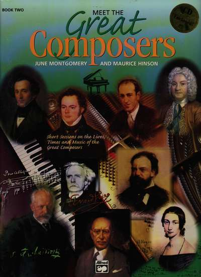 photo of Meet the Great Composers, Book 2 (CD)