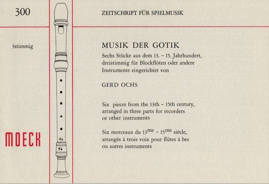 photo of Musik der Gotik