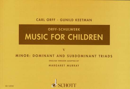 photo of Music for Children,  Vol. V Minor, Murray ed.