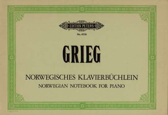 photo of Norwegian Notebook for Piano, Selections from Op. 17 & 66