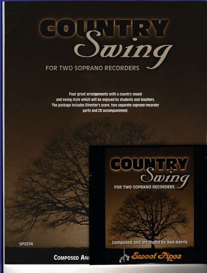 photo of Country Swing, Score, CD, parts
