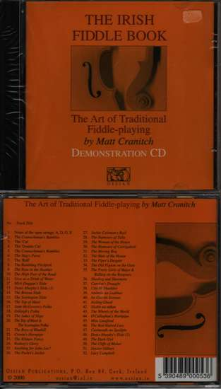 photo of The Irish Fiddle Book, CD