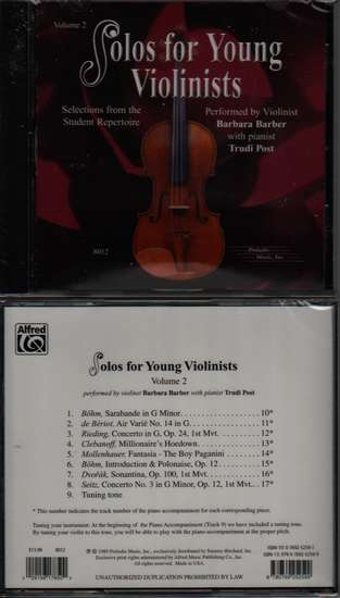 photo of Solos for Young Violinists, Vol. 2, CD