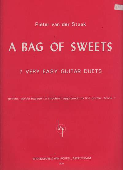 photo of A Bag of Sweets, 7 Very Easy Guitar Duets