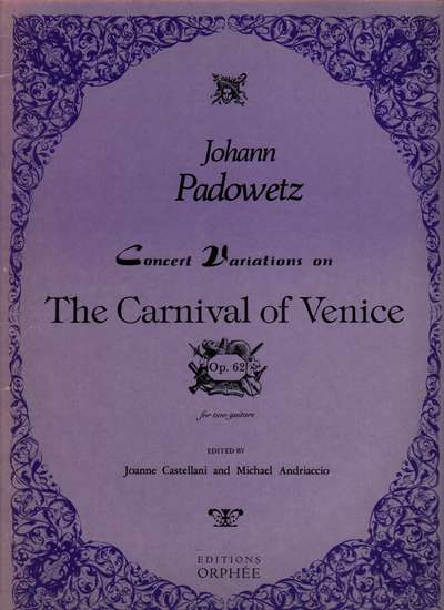 photo of Concert Variations on The Carnival of Venice, Op. 62