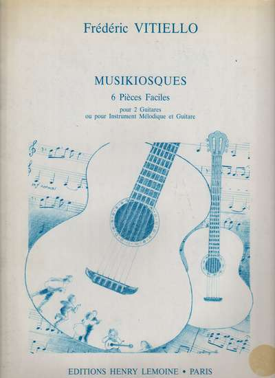 photo of Musikiosques, 6 Pièces Faciles
