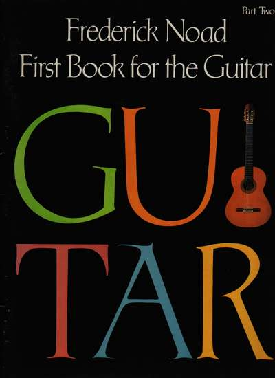 photo of First Book for the Guitar, Part Two