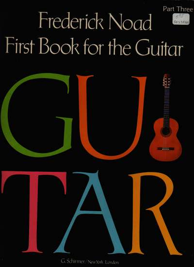 photo of First Book for the Guitar, Part Three