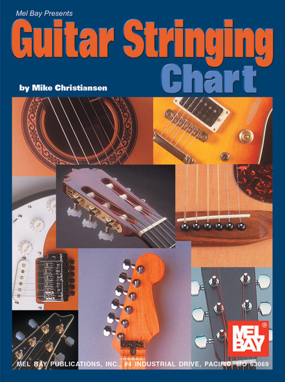 photo of Guitar Stringing Chart