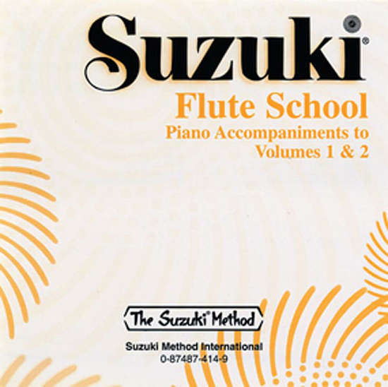 photo of Suzuki Flute School, Vol. 3 & 4, piano acc., CD